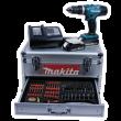 Makita Aku příklepový šroubovák s příslušenstvím Li-ion 18V 1,5Ah