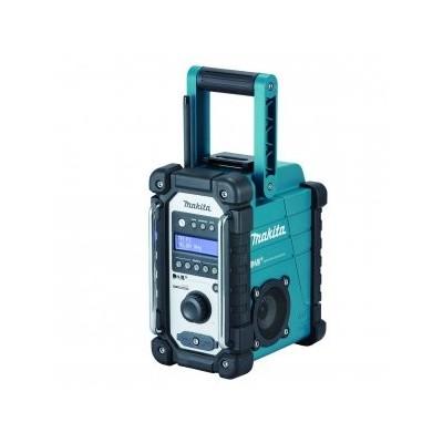 Makita Aku rádio DAB, Li-ion 7,2V-18V Z