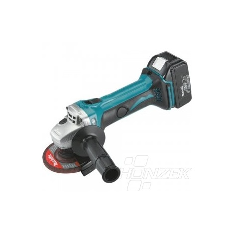 Makita Aku úhlová bruska 115mm Li-ion 18V 5,0Ah,systainer