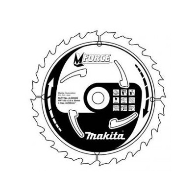 Makita pilový kotouč 185x30mm 16T old A-89648