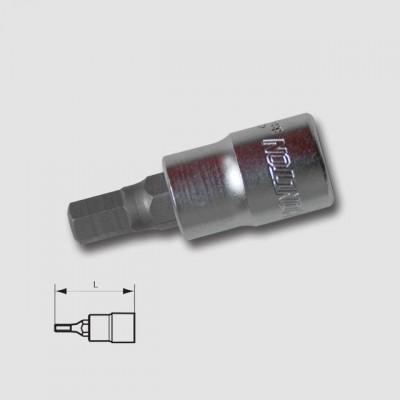 "HONITON Hlavice zástrčná 3 8"" IMB 4mm HEX3-04"