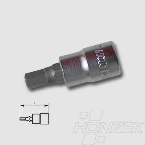 "HONITON Hlavice zástrčná 3 8"" IMB 6mm HEX3-06"
