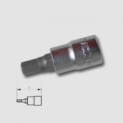 "HONITON Hlavice zástrčná 3 8"" IMB 10mm HEX3-10"