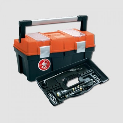 PROSPERPLAST Box plastový s organizérem 598x286x327mm FIREBIRD P90025