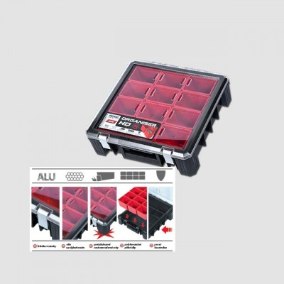 PATROL Box plastový s organizérem HD400, 389x400x110mm P90079