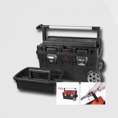 PATROL Box plastový s kolečky TROPHY 1 black 595X345X355 mm P90094
