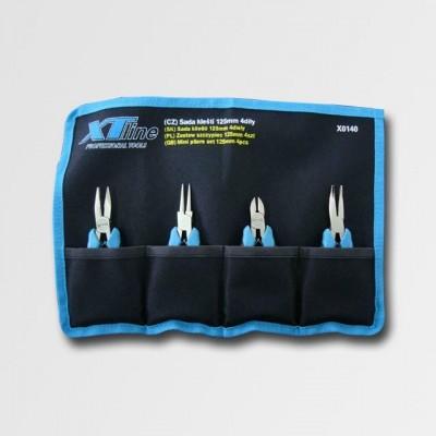 XTline sada kleští 125mm 4díly X0140
