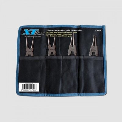 XTline Sada segrových kleští 180mm CrV X0150