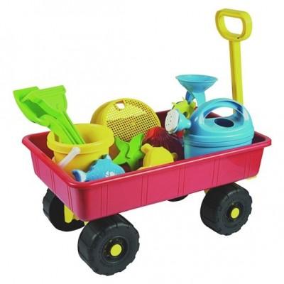Vozík zahradní dětský s příslušenstvím